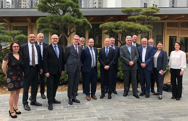 EFTA Parliamentary Committee on official visit to the Republic of Korea
