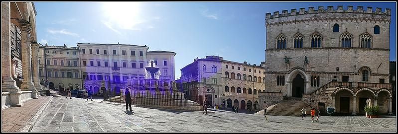 Perugia - Piazza IV Novembre e Cattedrale San Lorenzo