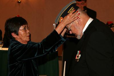 F.R.A. Cap Ceremony