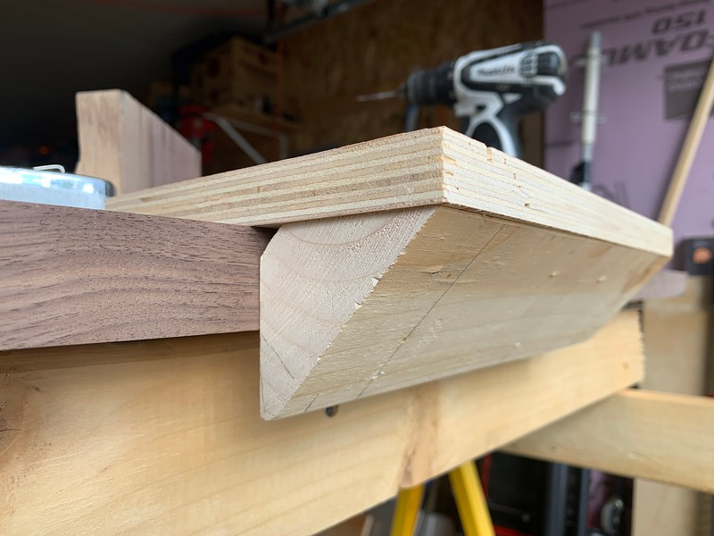 Corner screw jig -- not using this now