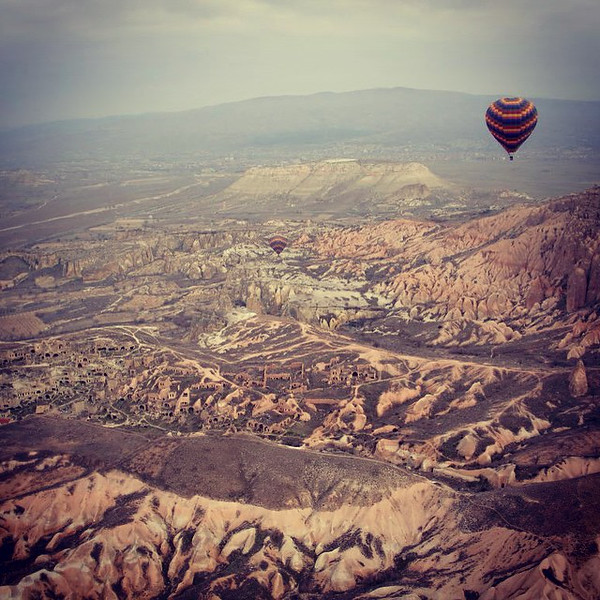 cappadocia goreme hot air balloon