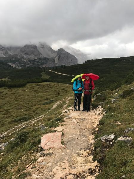 Rifugio Sennes to Rifugio Fanes