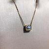 .70ct French Cut Diamond Bezel Pendant, 18kt Yellow Gold 9
