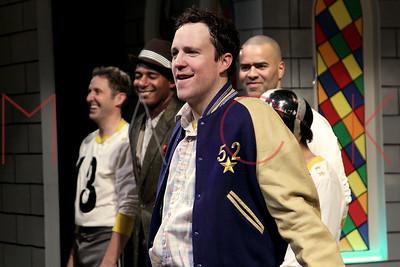 "New York, NY - January 22:  ""The Jammer"" Opening Night - Curtain Call at Atlantic Stage 2 on Tuesday, January 22, 2013 in New York, NY."