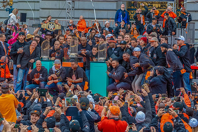 2014 SF Giants 3rd World Series Celebration