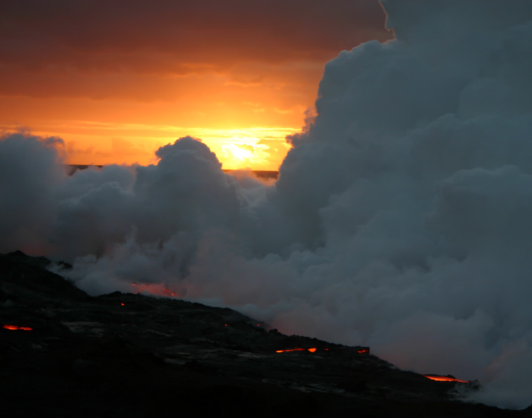 Lava at Sunrise
