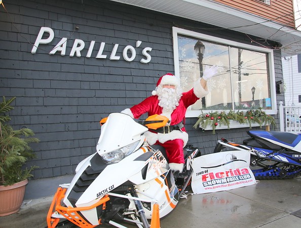 Town of Florida Snowmobile Club Brunch with Santa Fundraiser at Parillos Armory Grill 12-10-2017