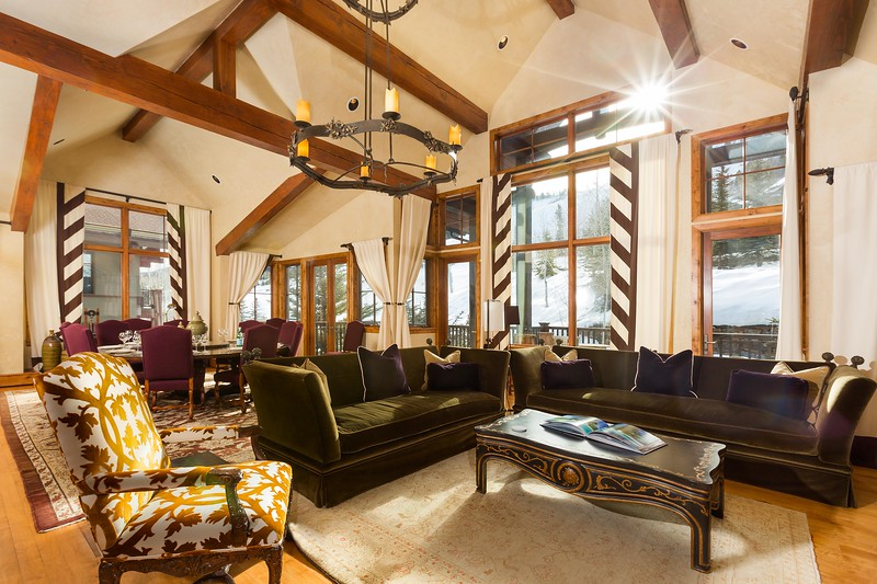 Great Room; Ritz Carlton Club Aspen Highlands, Aspen, Colorado