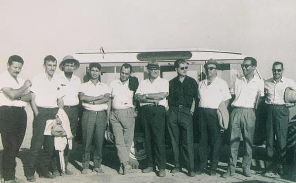 Engenheiros, geólogos e prospectores