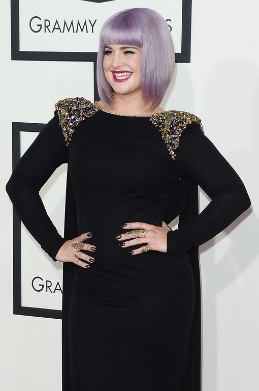 . TV personality Kelly Osbourne attends the 56th GRAMMY Awards at Staples Center on January 26, 2014 in Los Angeles, California.  (Photo by Jason Merritt/Getty Images)