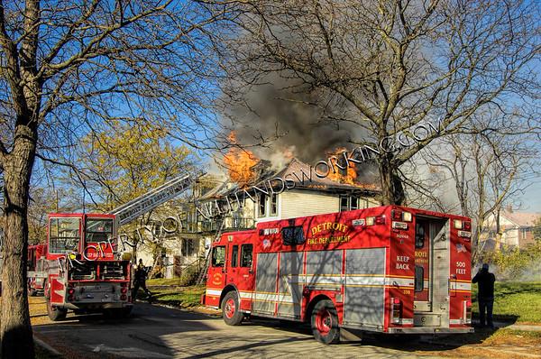 Detroit 6412 Northfield Two Houses