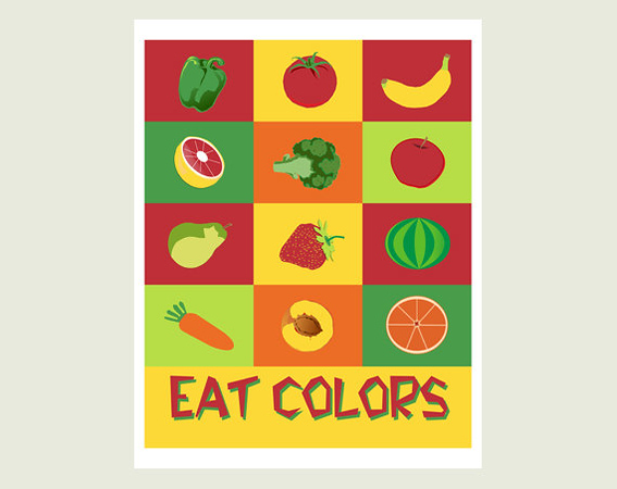 (L4) Eat Colors