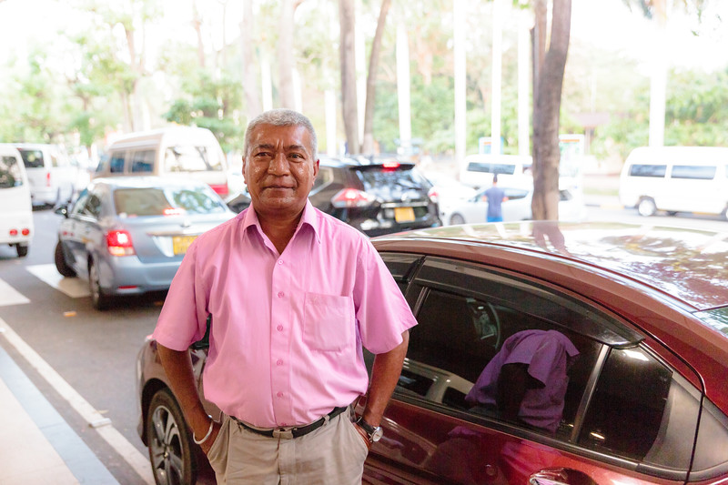 Tuan, our driver