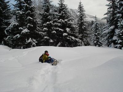2008.01.06 Snowshoeing