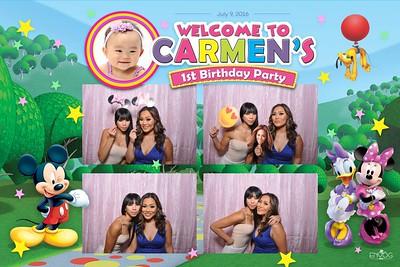 Carmen's 1st Birthday (prints)