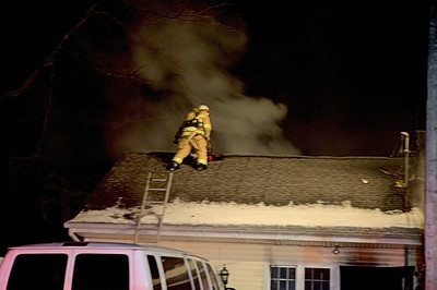 Ohio Township structure fire Crawford Road