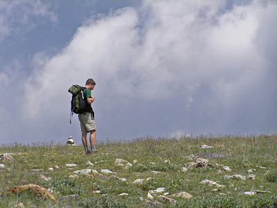Comanche Peak Wilderness, CO, with Conor, July 29, 2007