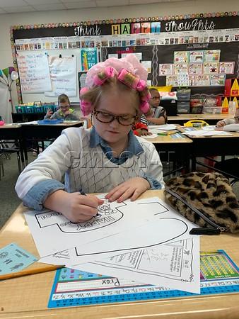 2nd Grade Celebrating 102nd Day