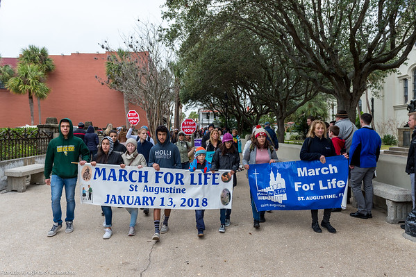 March for Life Saint Augustine