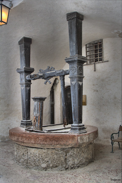 Well inside the fortress of Hohensalzburg Salzburg, 04/03/2019 This work is licensed under a Creative Commons Attribution- NonCommercial 4.0 International License