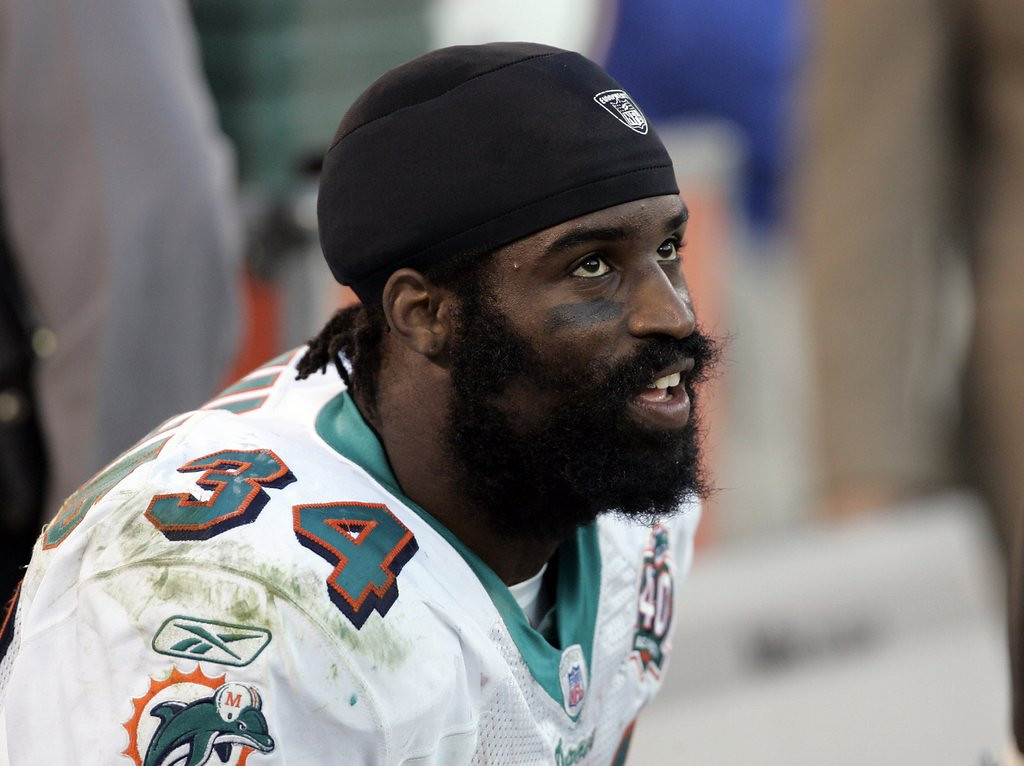 ". <p>10. (tie) RICKY WILLIAMS  <p>Started some NFL games every bit as wasted as the typical Packers fan. Allegedly. (previous ranking: unranked) <p><b><a href=\'http://www.cbssports.com/nfl/eye-on-football/23492213/channing-crowder-ricky-williams-smoked-marijuana-before-games\' target=""_blank\""> HUH?</a></b> <p>    (Robert B. Stanton/NFL Photo Library)"
