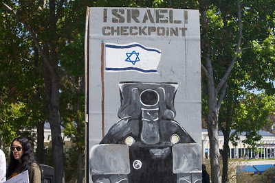 STAND WITH US ISRAELI CHECKPOINT UCSD
