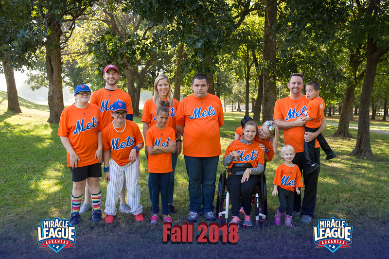 Miracle League Fall '18 Group Photos