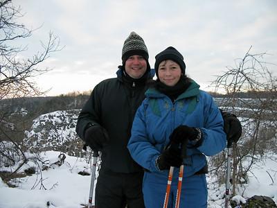 Snowshoeing 12/19/10