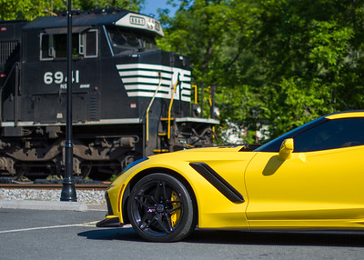 Laura's Corvette