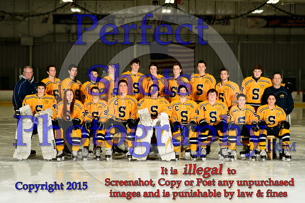 Ice Hockey Portraits