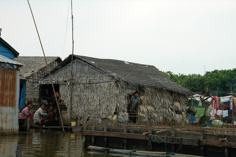 Floating House - Battambang, Cambodia
