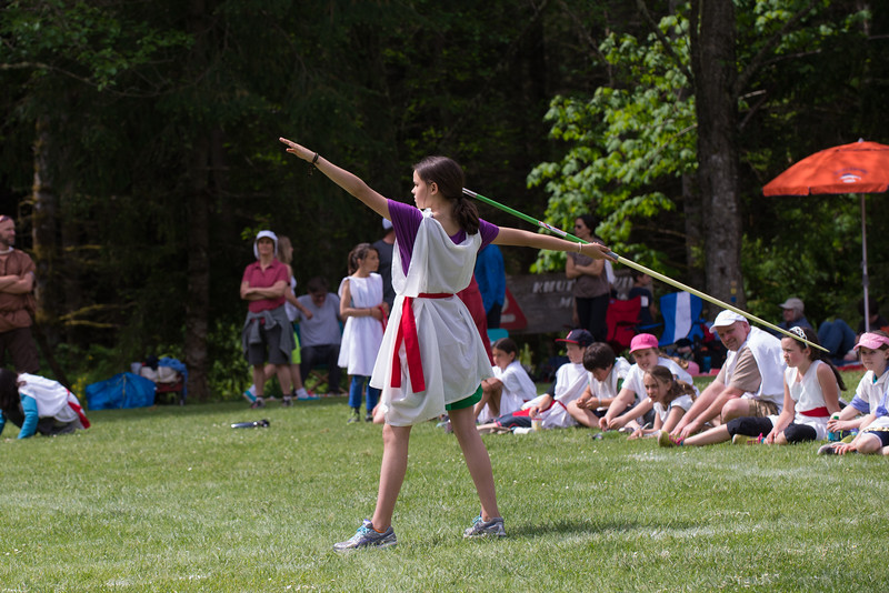 fifth grade olympiad - javelin