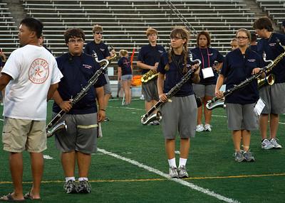 Stadium Band Rehearsal