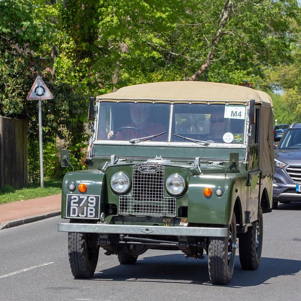 279DJB 1951 land Rover