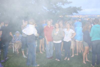 2010 class of 13 Bonfire