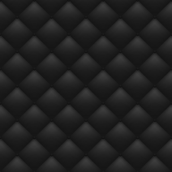 Quilted black background