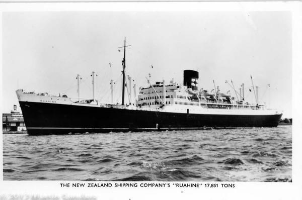 RMS Ruahine 29/7/1963-16/11/1963