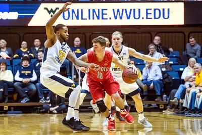 32946 Men's Basketball Action Radford December 2016