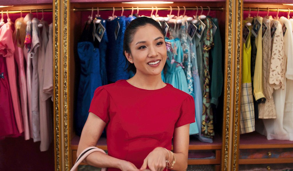 """. Constance Wu stars in \""""Crazy Rich Asians,\"""" in theaters Aug. 15. (Warner Bros. Entertainment via AP)"""