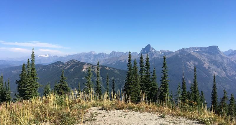 Top of Scalplock Mountain