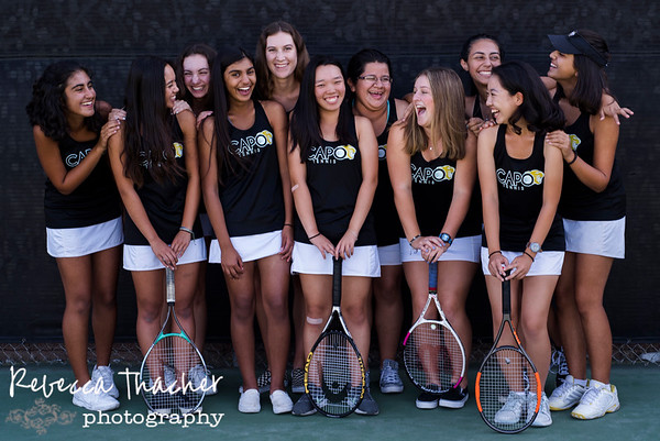 CVHS JV Tennis Portraits