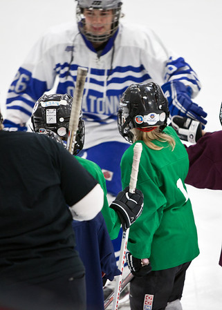 Paige girls Hockey game