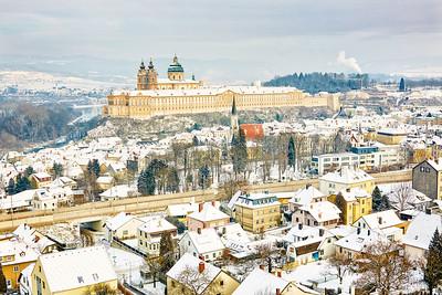 Winter in Melk
