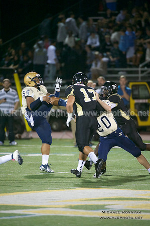 Football, HS Varsity 12, St Anthonys #17 Vs Xaverian 10.26.12