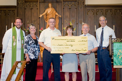 Downing Benefit Match Fund Check