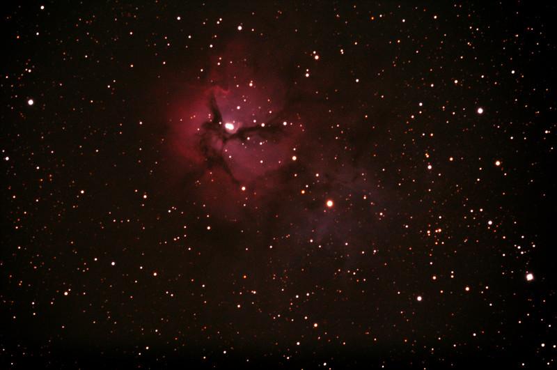 M20 - NGC6514 - Gum 76 Trifid Nebula - 1/5/2020 (Processed stack)