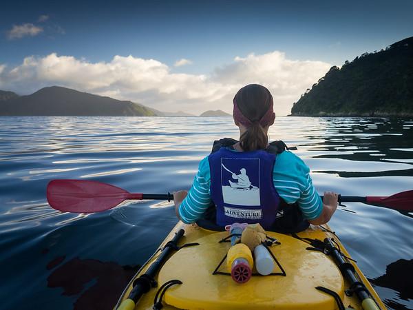 Marlborough Sounds Kayaking