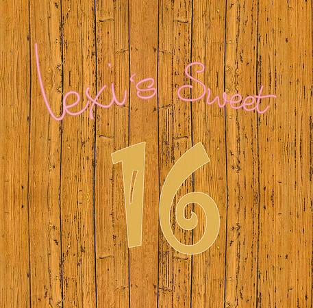 Lexi's Sweet Sixteen