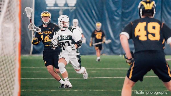 Cleveland State Lacrosse Game vs. U. of Michigan