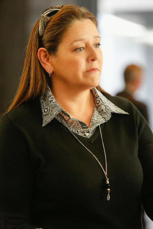 """. \""""Nightmares\"""" -- Camryn Manheim  starts as Sam Barton  in CBS series EXTANT which  premieres Wednesday, July 9 (9:00-10:00 PM, ET/PT)on CBS.  Photo: Cliff Lipson/CBS ���©2014 CBS Broadcasting, Inc. All Rights Reserved"""